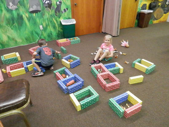 Making a zoo by julie