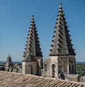 14th Sep 2017 - 254 - Roof of the Palais des Papes, Avignon