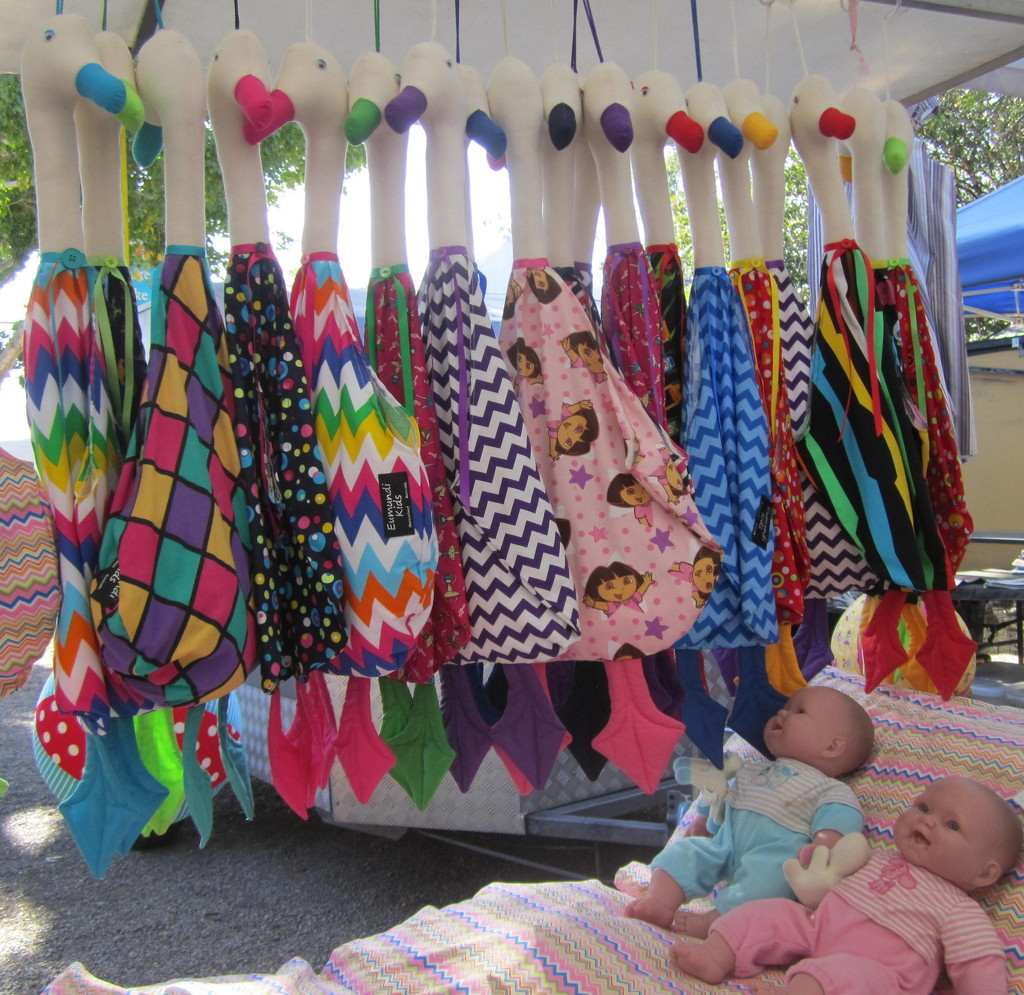 Baby corner at the market by 777margo