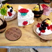 These delicious looking cakes are actually made of soap