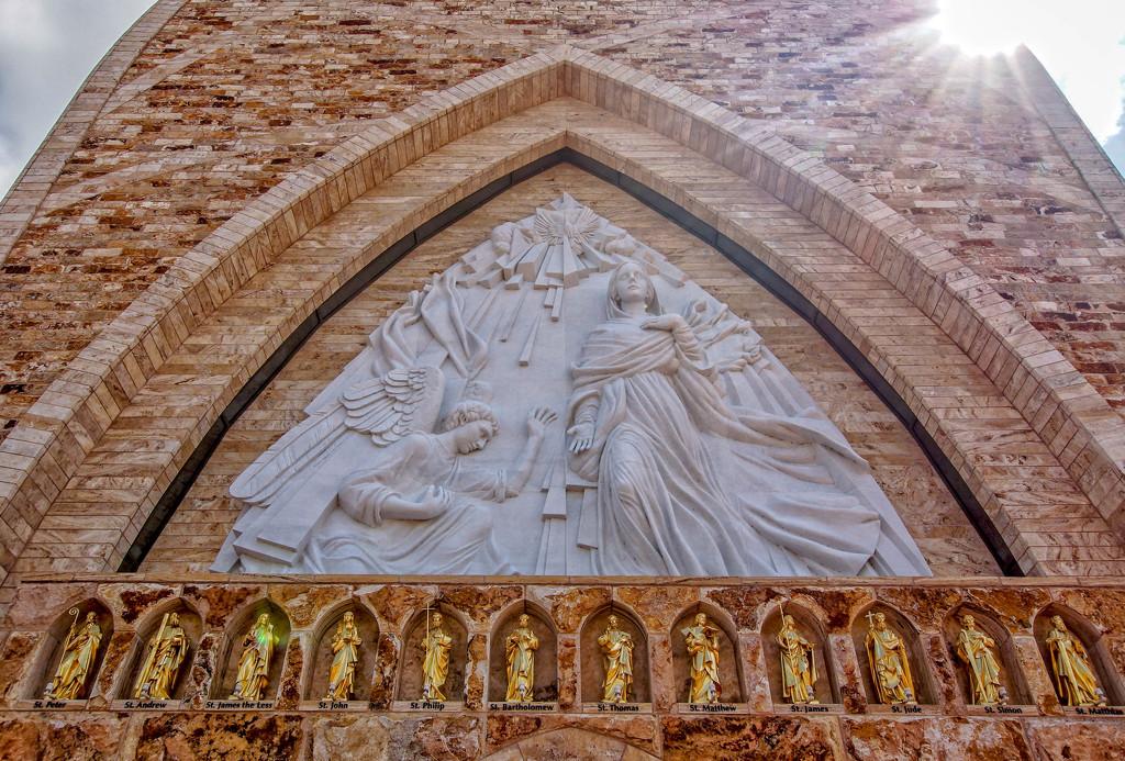 Annunciation Sculpture by danette
