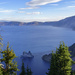 Phantom Ship At Crater Lake