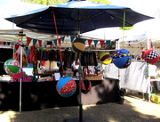 21st Sep 2017 - Colourful heavy ball for kids!!  Eumundi market