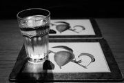 20th Sep 2017 - NF-SOOC-2017 Day 20: Water Glass and Placemats