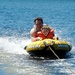 Tubing with Her Dad