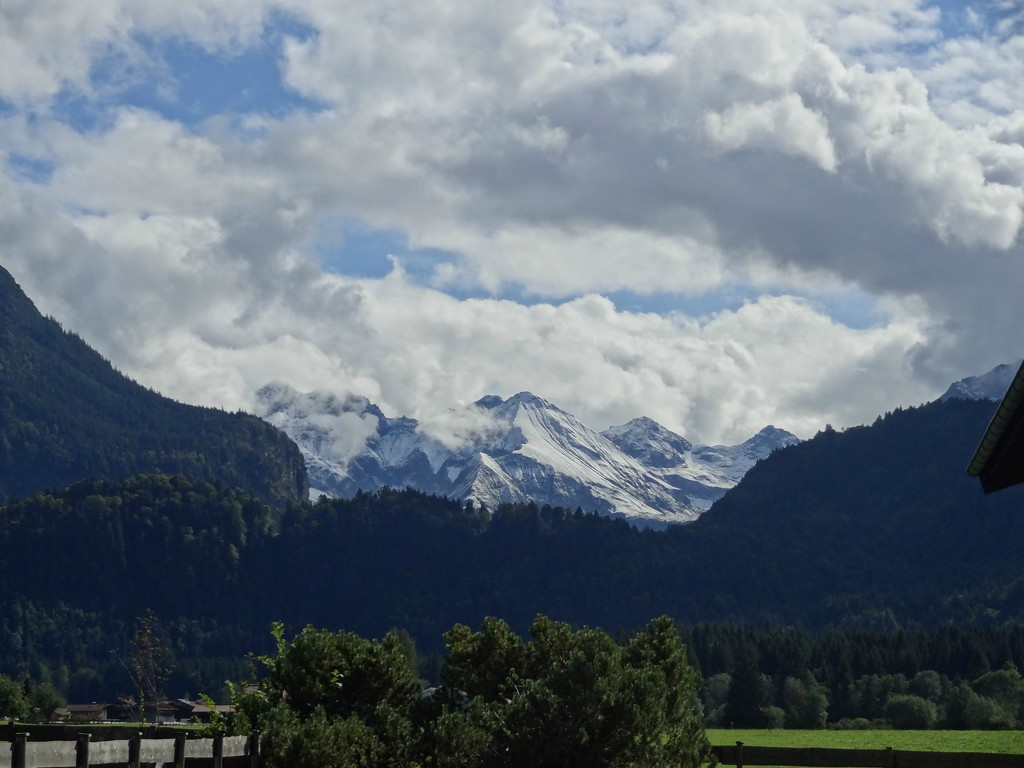 snow on the mountains  by gijsje