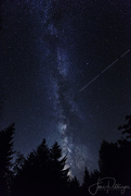 24th Sep 2017 - Milky Way Off Deck with Falling Star
