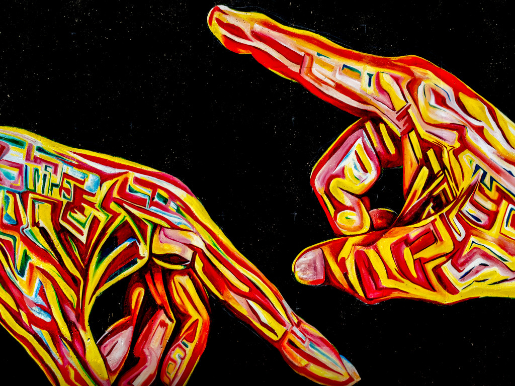 Colorful Hands by rminer