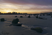 25th Sep 2017 - Sunset Over the Rocks and Pilings