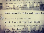 24th Sep 2017 - Nick Cave & The Bad Seeds