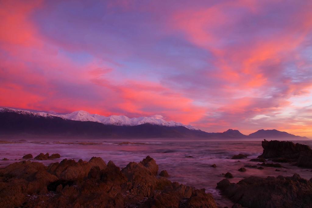 Kaikoura sunrise by maureenpp