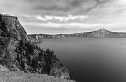 26th Sep 2017 - Looking North At Crater Lake B and W