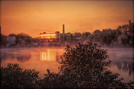 Sunrise at the Mills - extreme edit by joansmor