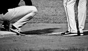 26th Sep 2017 - baseman and runner