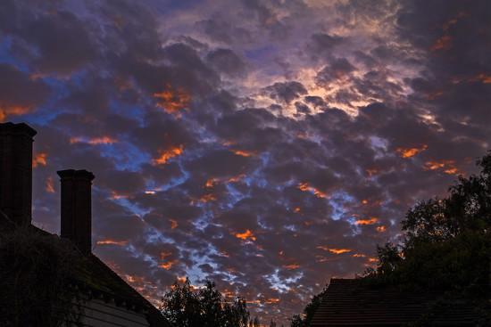 Fiery Sky by megpicatilly