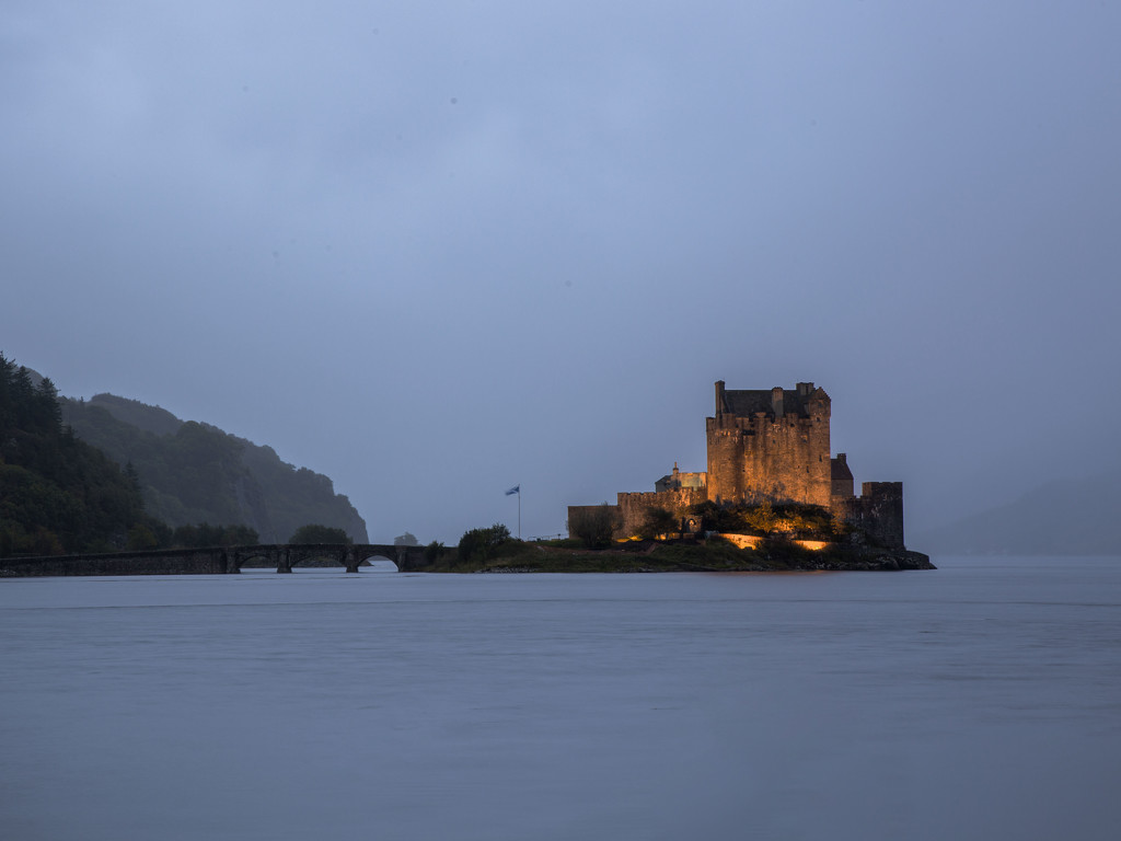 Eilean Donan Castle in Dornie, Scotland by shepherdmanswife