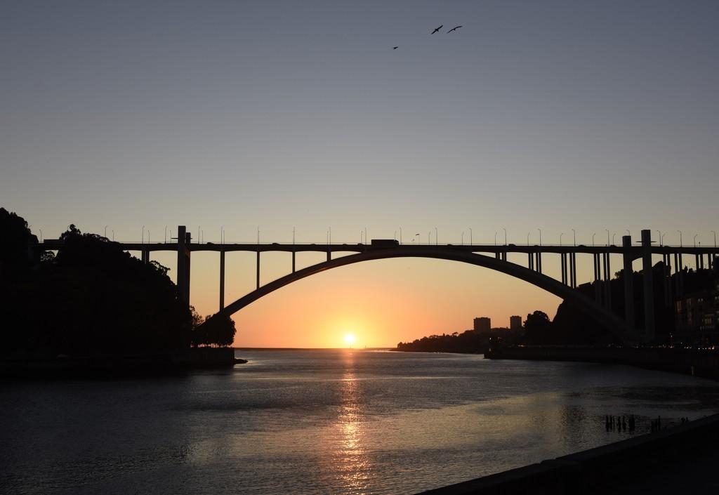 Drive By Sunset, Porto, Portugal _DSC4530 by merrelyn