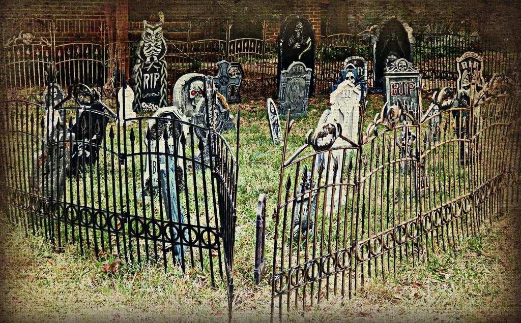 Graveyard in the 'Hood by peggysirk