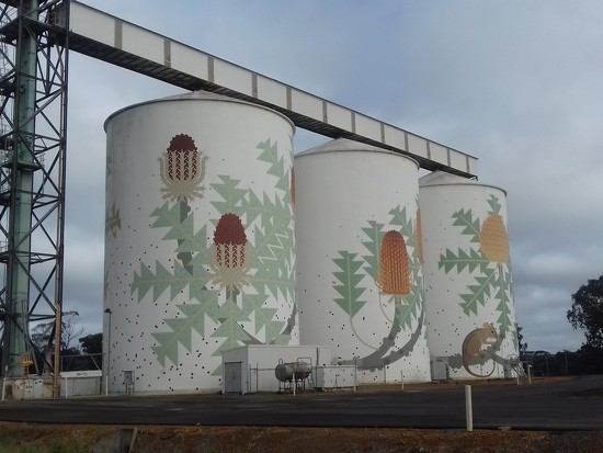 Ravensthorp grain silos.  by judithdeacon