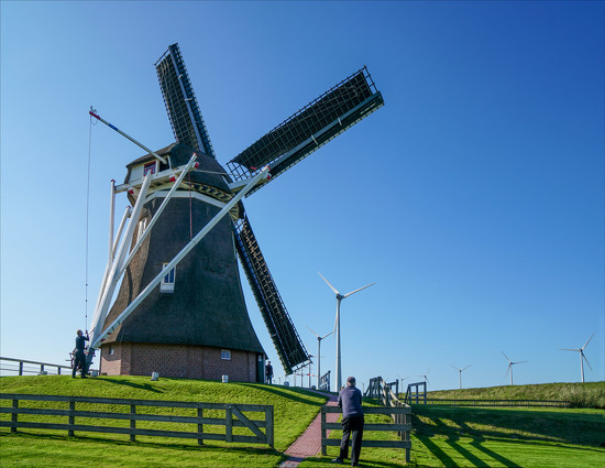 The Goliath (De Goliath) mill, Groningen, The Netherlands by ivan