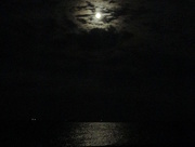 2nd Oct 2017 - Moon on the Water in the Bay