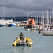 Weymouth Harbour with Lifeboat