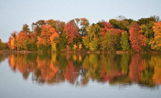 Reflections of Fall by caitnessa