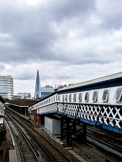 Waterloo and Shard by peadar