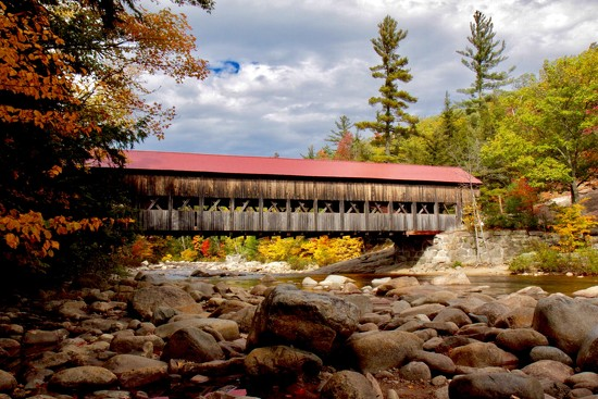 New Hampshire Covered Bridge by jnorthington