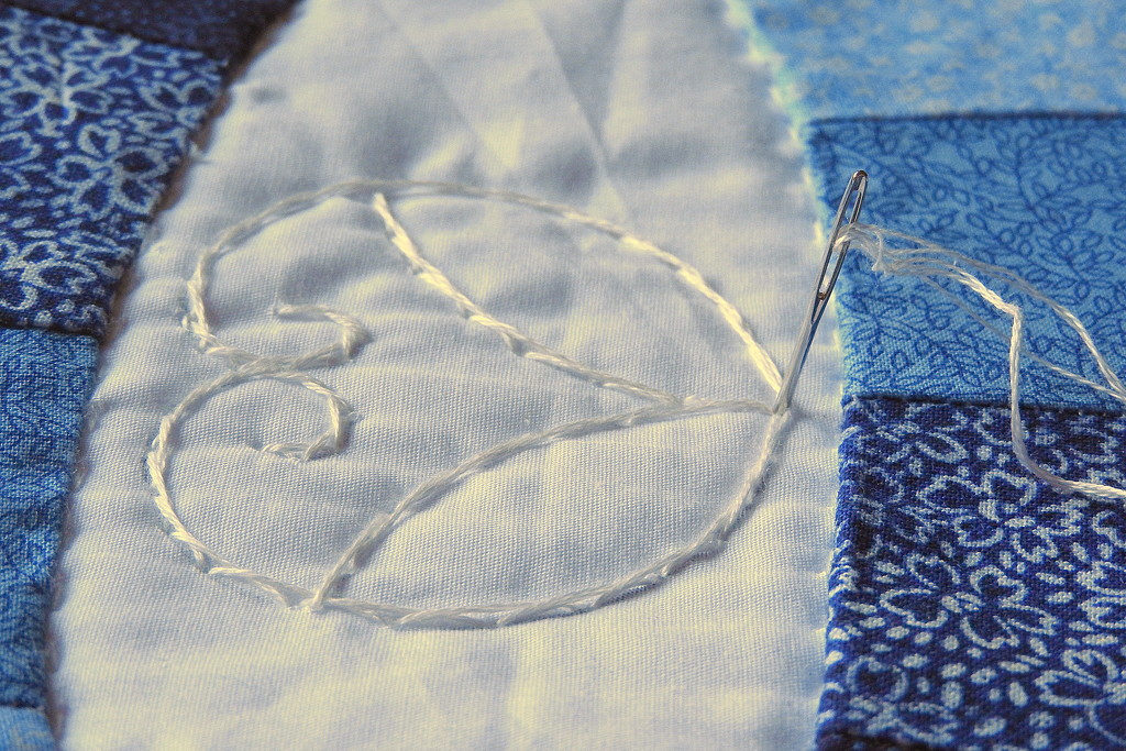 Quilted hearts by homeschoolmom