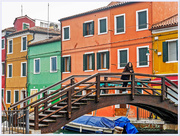 12th Oct 2017 - Girl On The Bridge, Burano