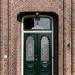 'T Golden Houjke - front door, Groningen, Holland