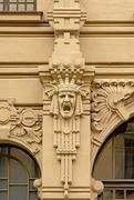 1st Sep 2017 - Riga Art Nouveau decorations