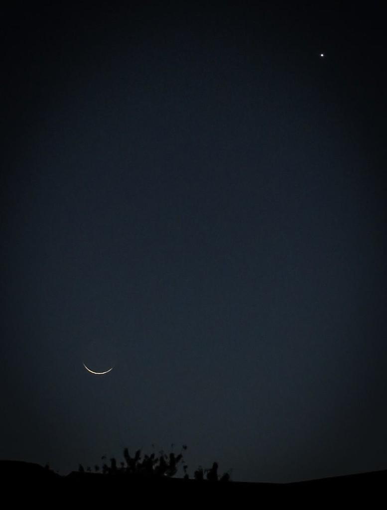 Moon and Mars by marylandgirl58