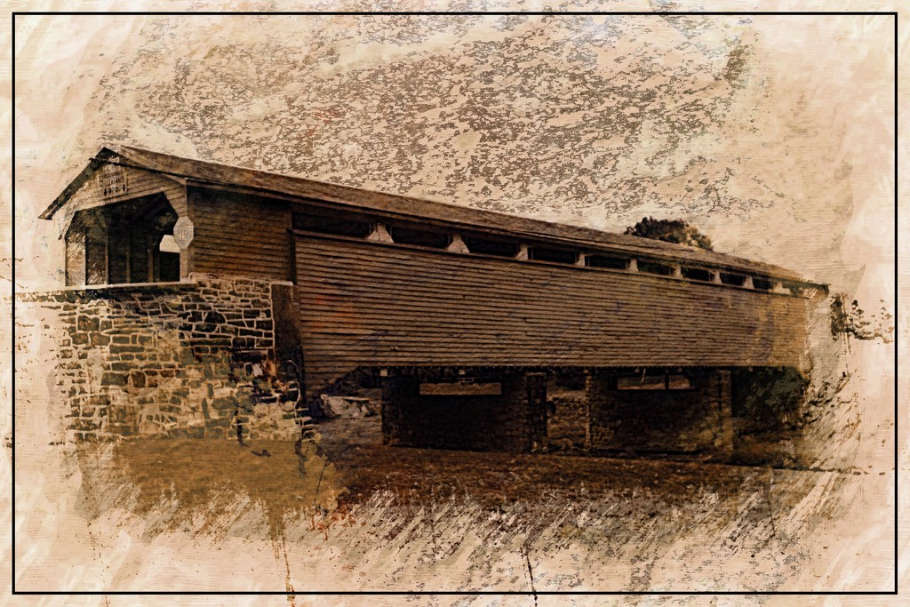 Wehr's Covered Bridge by olivetreeann