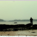 Shooting Inchcolm Abbey in the rain