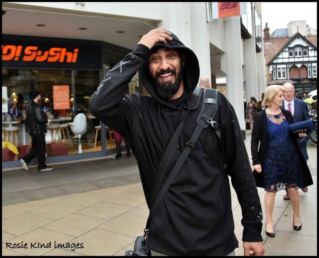 Happy fellow Nikon user by rosiekind