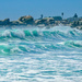 The waves at Camps Bay............ by ludwigsdiana
