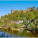 Ludlow Castle And The River Teme