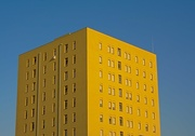 9th Sep 2017 - yellow on blue
