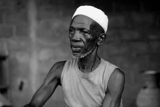 An old Nigerien man by vincent24