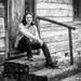 senior photos - porch