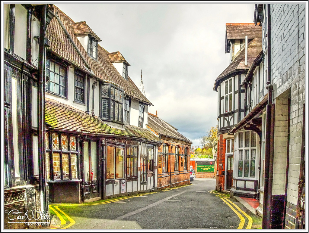 A Side Street,Shrewsbury by carolmw