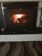 24th Oct 2017 - Fall is here, time for a fire
