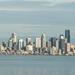 Seattle Skyline from Bainbridge Island Ferry by jyokota