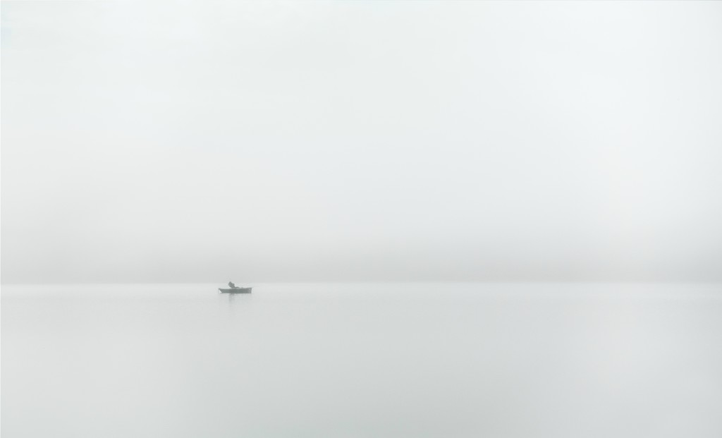 Fishing in the Fog... by vignouse