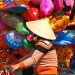 Lady in Ballons by lily