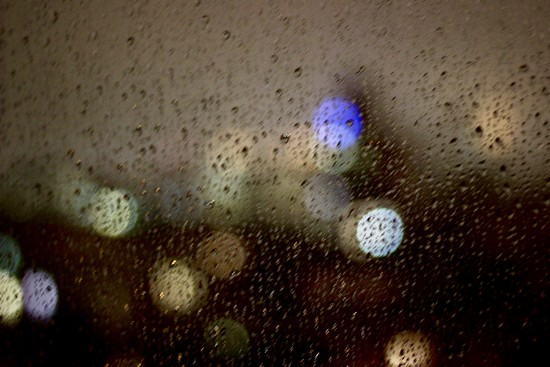 Rainy NYC abstract by vincent24