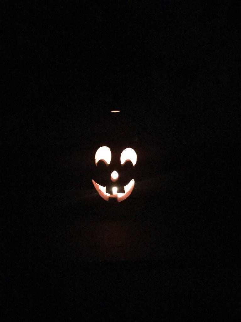 Jack all lit up! by louannwarren
