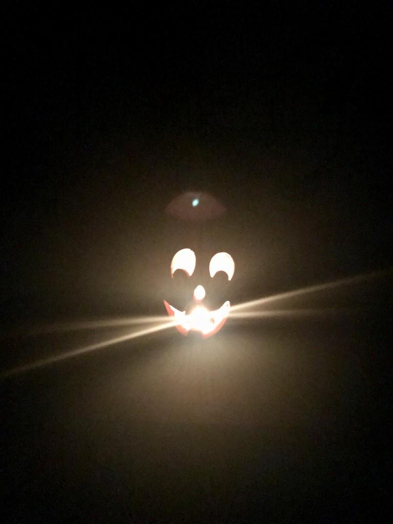 Jack all lit up #2! by louannwarren